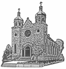 Sketch of St. Michael's church