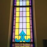 South, far West Side of Nave (by choir loft)