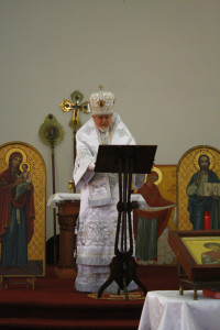 Vladyka offers congratulations us and challenges us to share the Gospel.